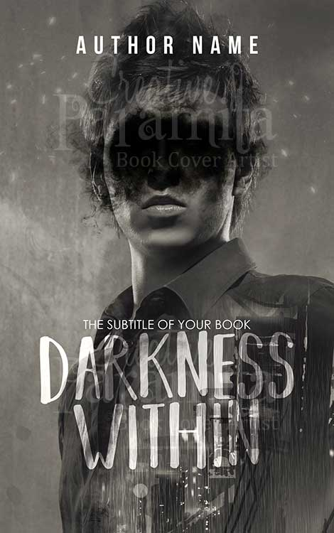 black and white romance book cover design