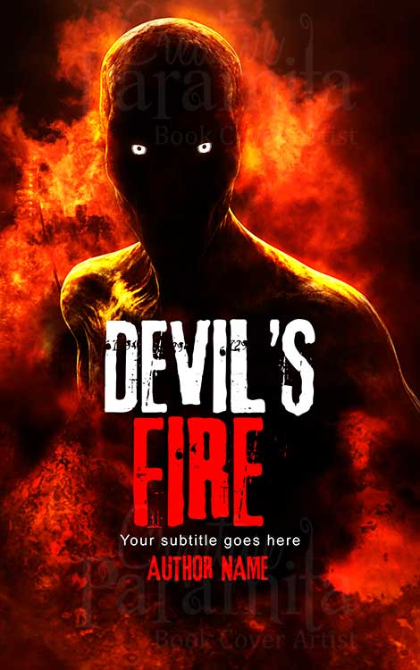 devil book cover design