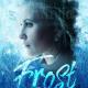 snow woman princess book cover design