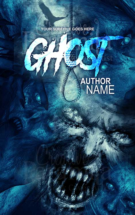 ghost spirit eBook cover design