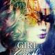 colorful fantasy lady book cover design