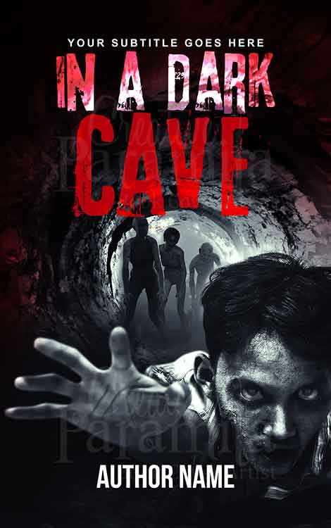 zombie horde premade book cover design