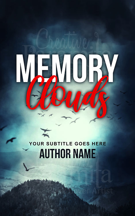 non fiction cloud birds eBook cover design
