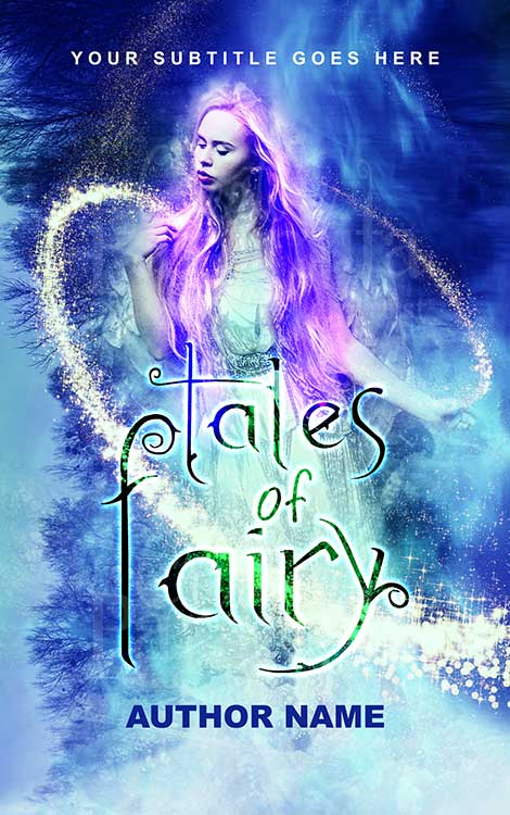 fairy lady fantasy premade eBook cover design
