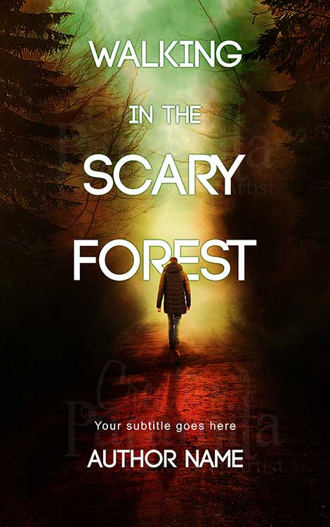 horror suspense thriller eBook cover