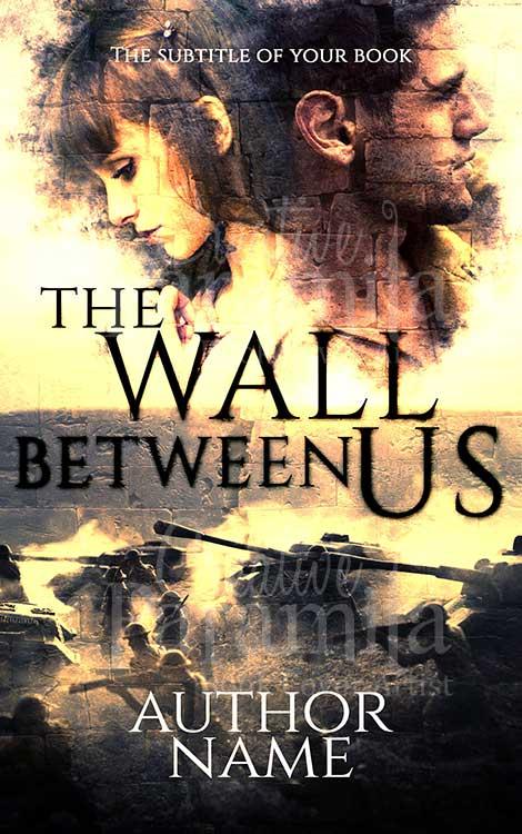 drama war romance book cover
