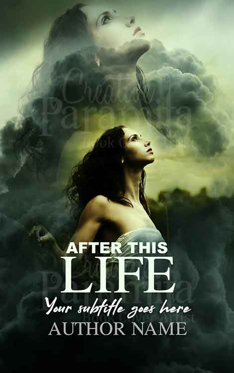 afterlife drama premade book cover