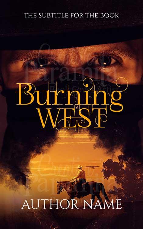 cowboy Texas book cover design