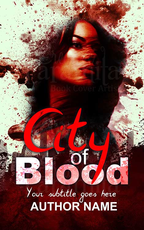 blood murder thriller book cover