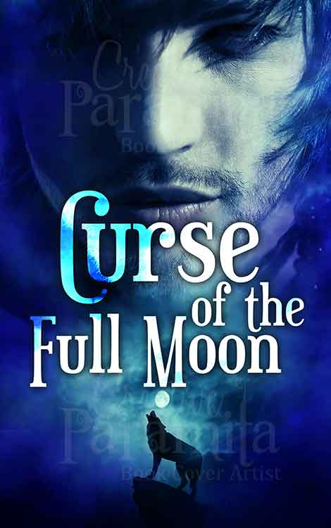 werewolf blue fantasy premade eBook cover
