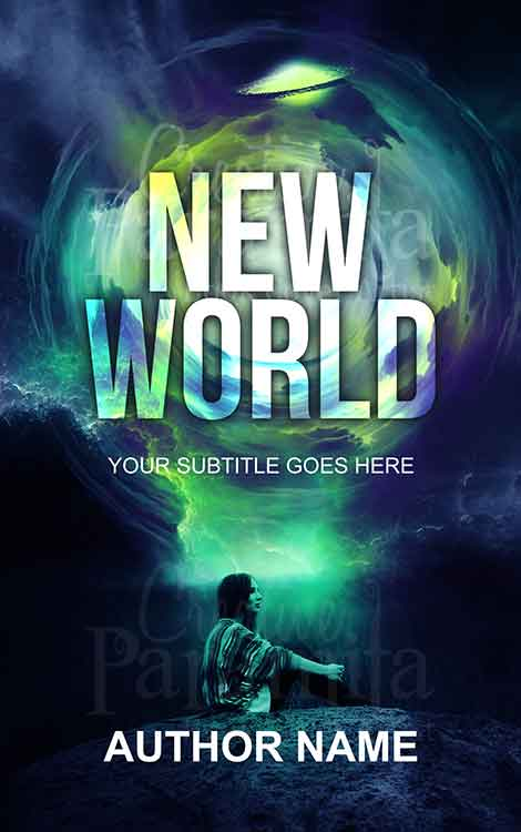 alien world scifi premade eBook cover design