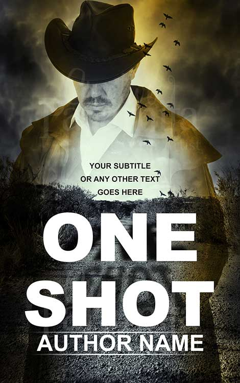 cowboy suspense eBook cover design