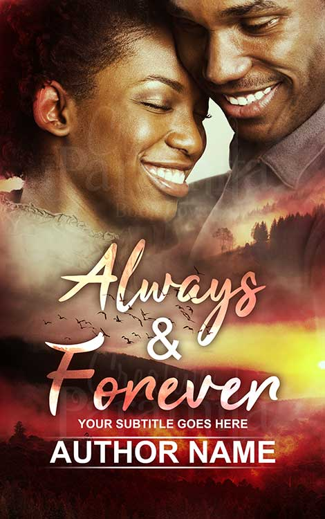 African American couple book cover