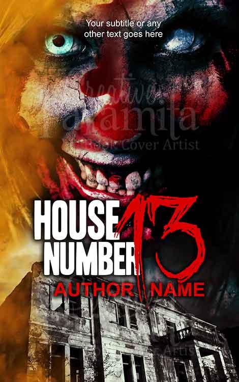 horror woman haunted house
