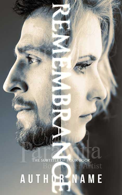 girl and guy face revenge story book cover