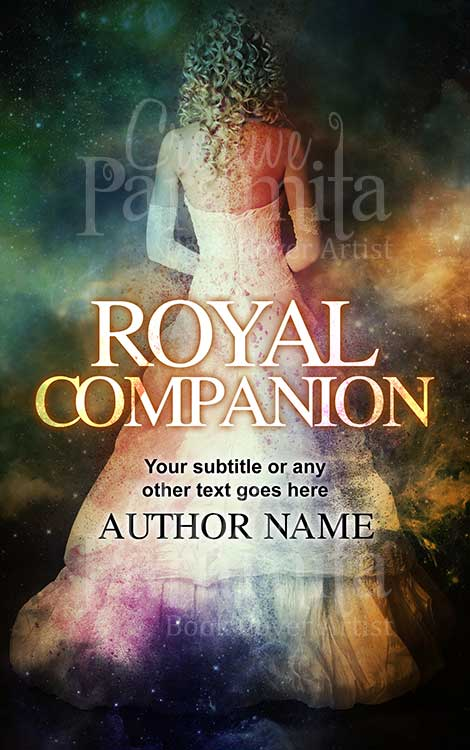 historical lady in gown book cover