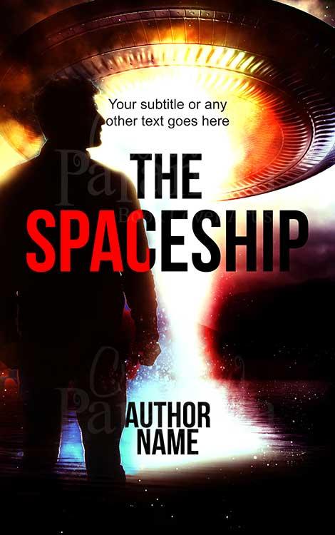 scifi alien premade eBook cover