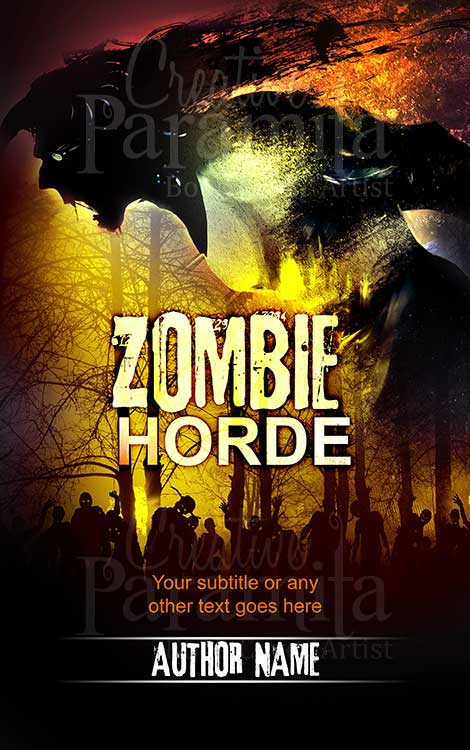 zombie horde book cover