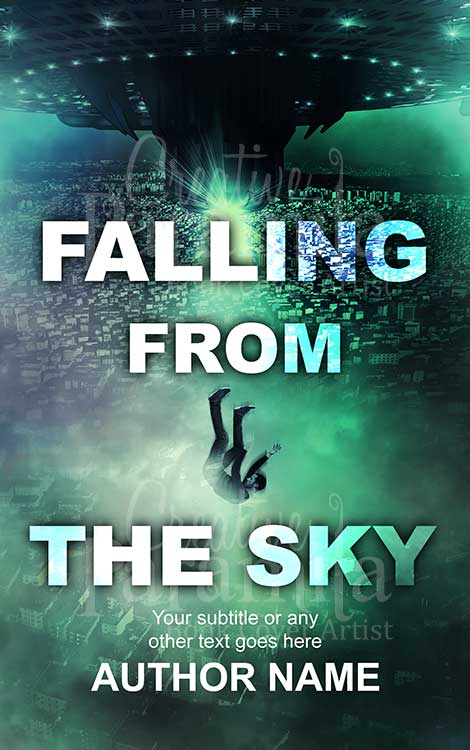 falling from sky book cover scifi