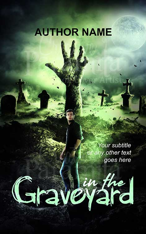 creepy horror zombie eBook cover