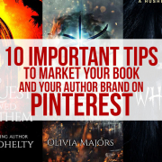 tips to market your book and your author brand on Pinterest