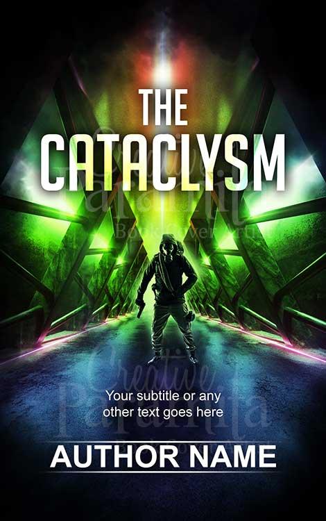 gas mask scifi book cover