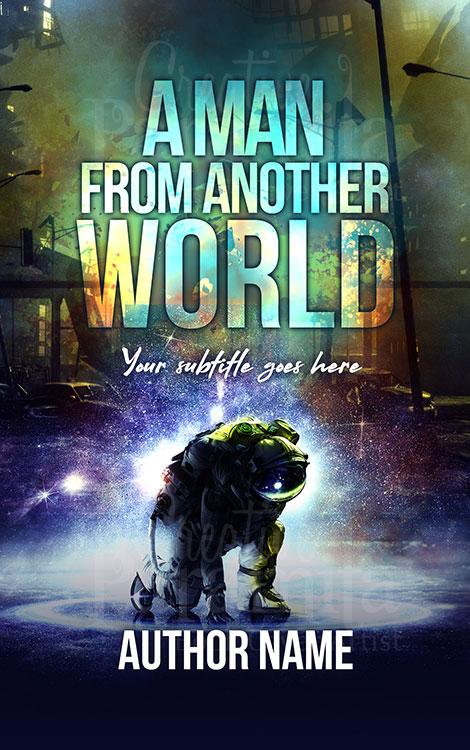 scifi alien book cover